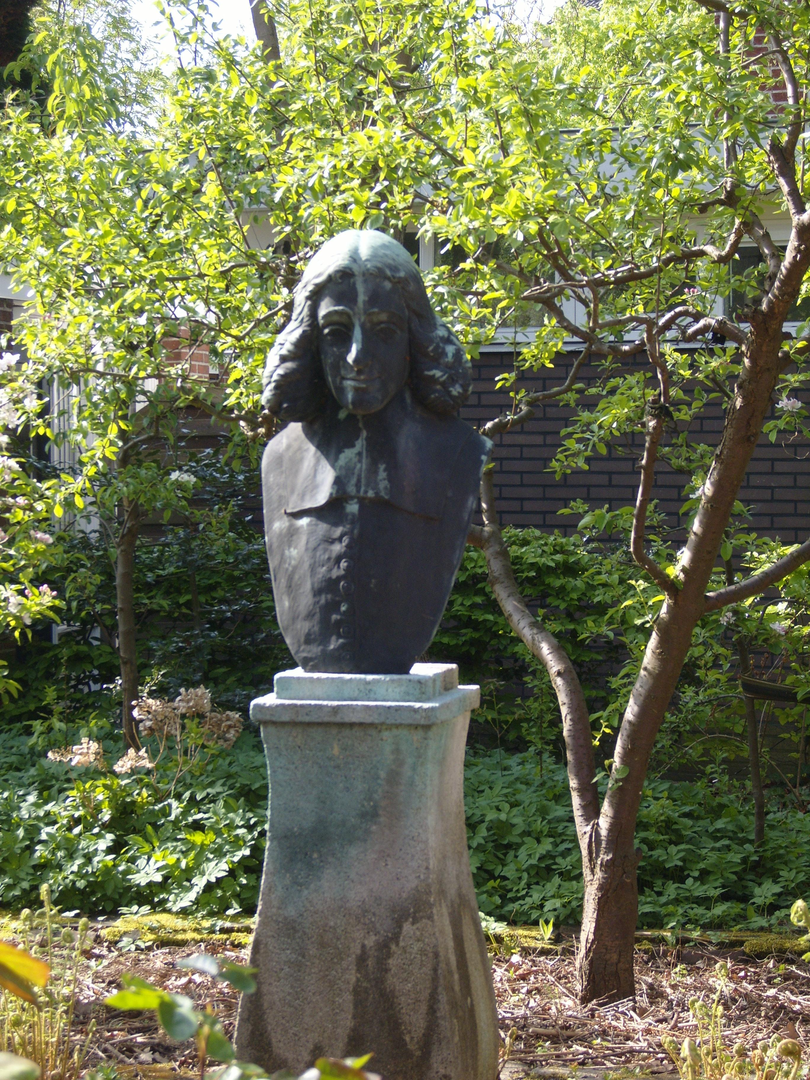 le buste de Spinoza à Rijnsburg